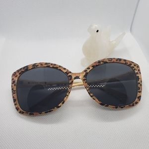 🐆 Lucky Brand Sashay Cheetah Sunglasses